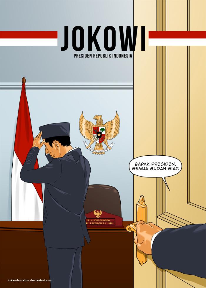 Bapak Presiden by iskandarsalim