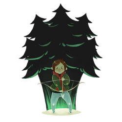 Ellie in the Winter by Chopstuff