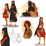 Alma and Iman