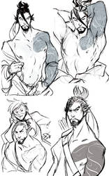 Stupid Sexy Hanzo by Chopstuff