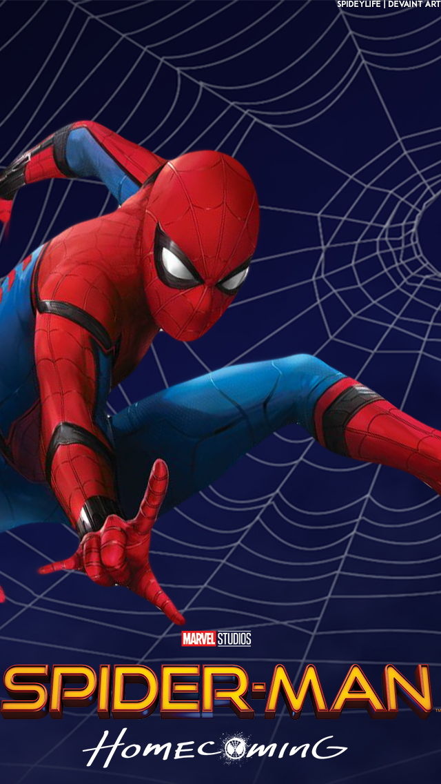Spider Man Homecoming Wallpaper IPhone 5 5s SE By Spideylife