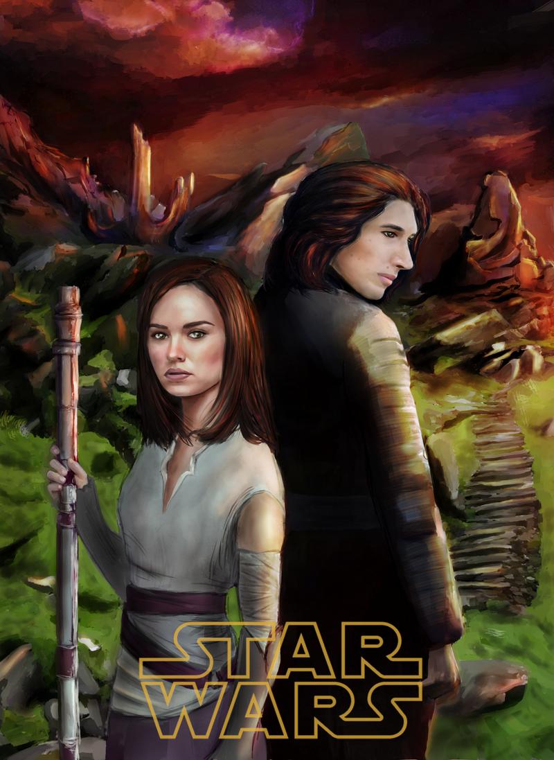 Ahch-To (Star Wars : The Last Jedi) by U-Svetu-Maste