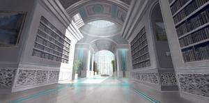 Library Hall by U-Svetu-Maste