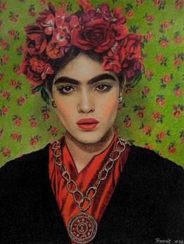 Natalia Castellar, colored pencils