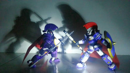 [LBX] Dark Knight Achilles VS Achilles