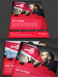 Corporate Modern Flyer / Ad Template