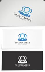 SocialCareer | Logo Template