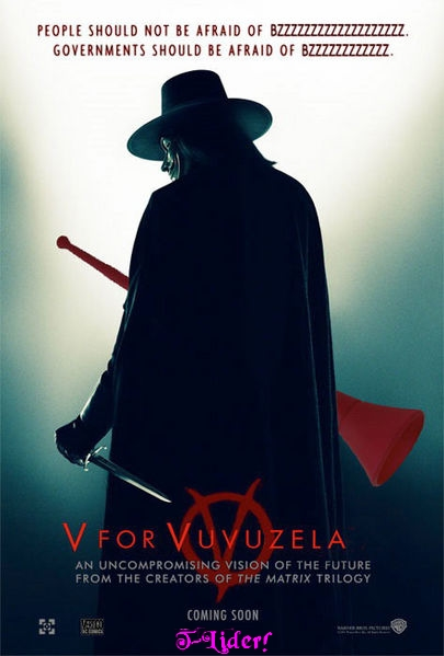 V for Vuvuzela by t-lider