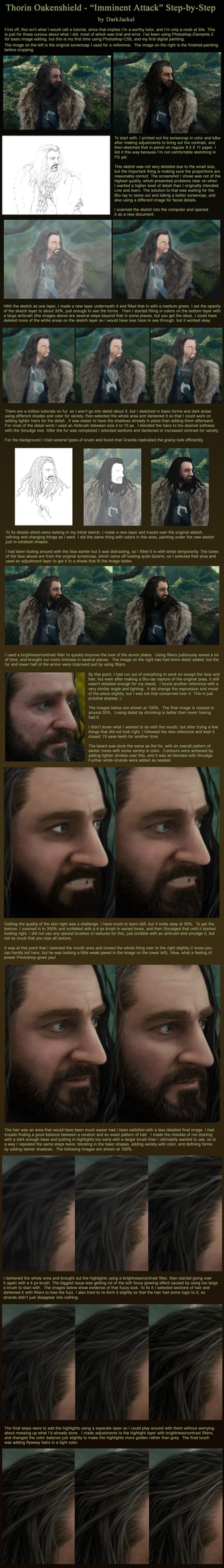Thorin Oakenshield: Step by Step by DarqueJackal