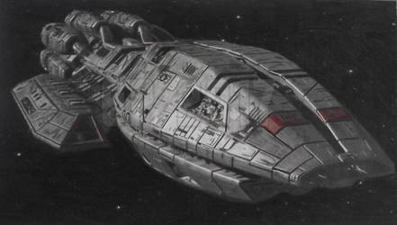 Battlestar Pegasus by Starfire-Productions