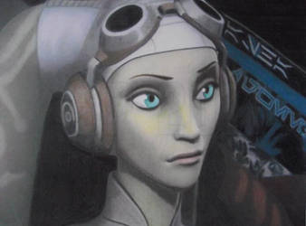 Speed Challenge 01: Hera Syndulla by Starfire-Productions