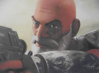 Speed Challenge 02: Captain Rex by Starfire-Productions