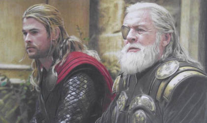Thor II The Dark World: Thor And Odin
