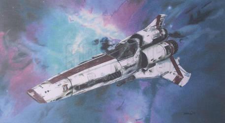 Battlestar Galactica: Colonial Viper - Mark 2