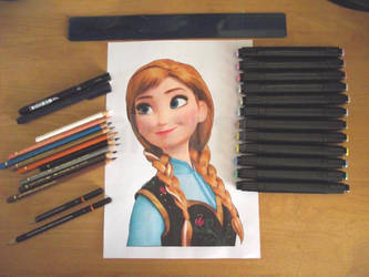 Disney's Frozen: Anna by Starfire-Productions