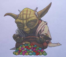 Yoda - Master Of The Hunt by Starfire-Productions