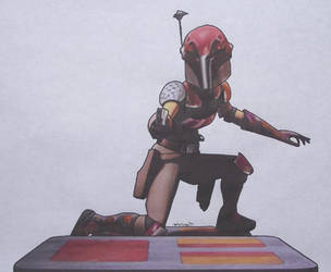 Sabine Wren by Starfire-Productions