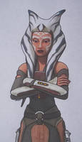 Ahsoka Tano by Starfire-Productions
