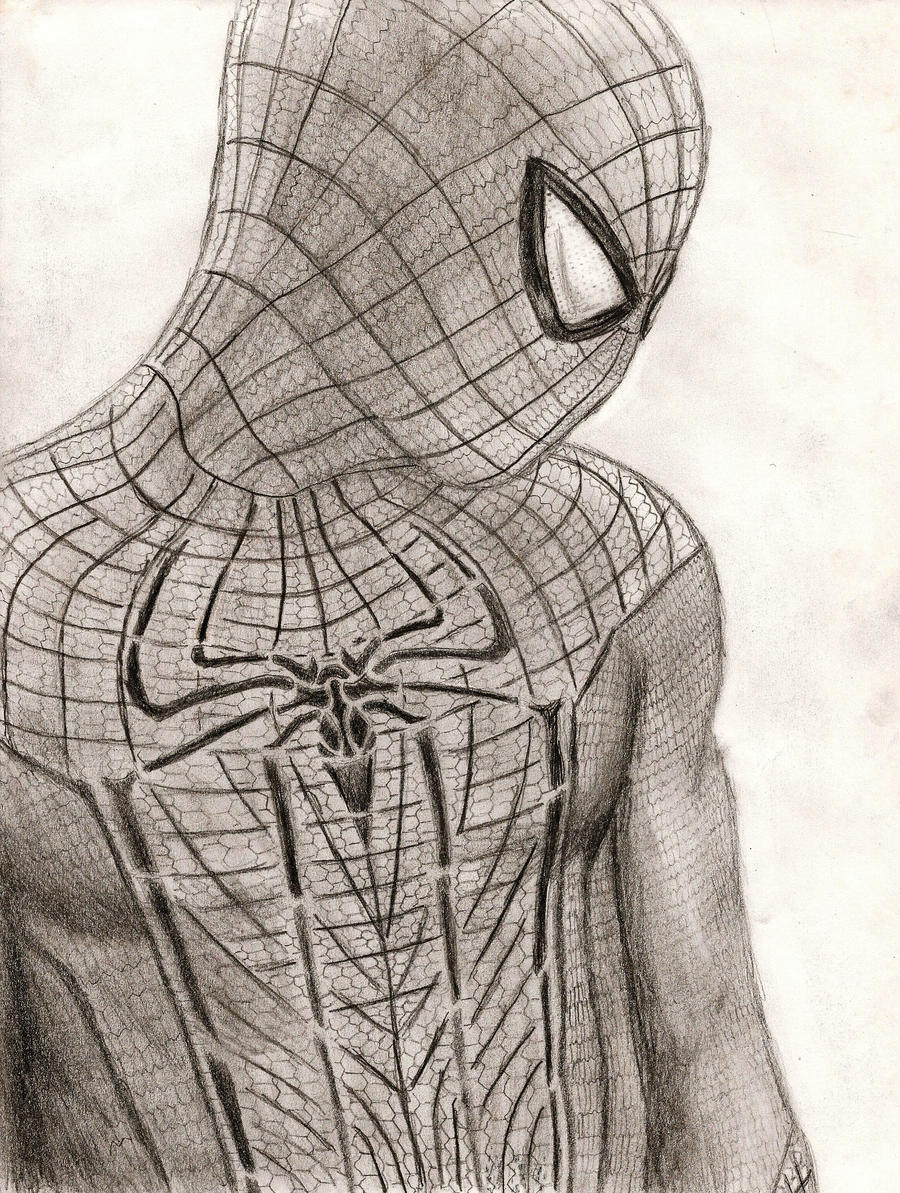 The amazing spider man by spartan26 wensloff on deviantart for Amazing spiderman 2 coloring pages