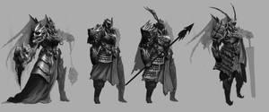 Demon Knight Character design