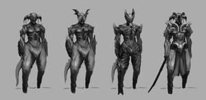 demon character designs