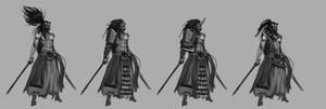 ronin character design