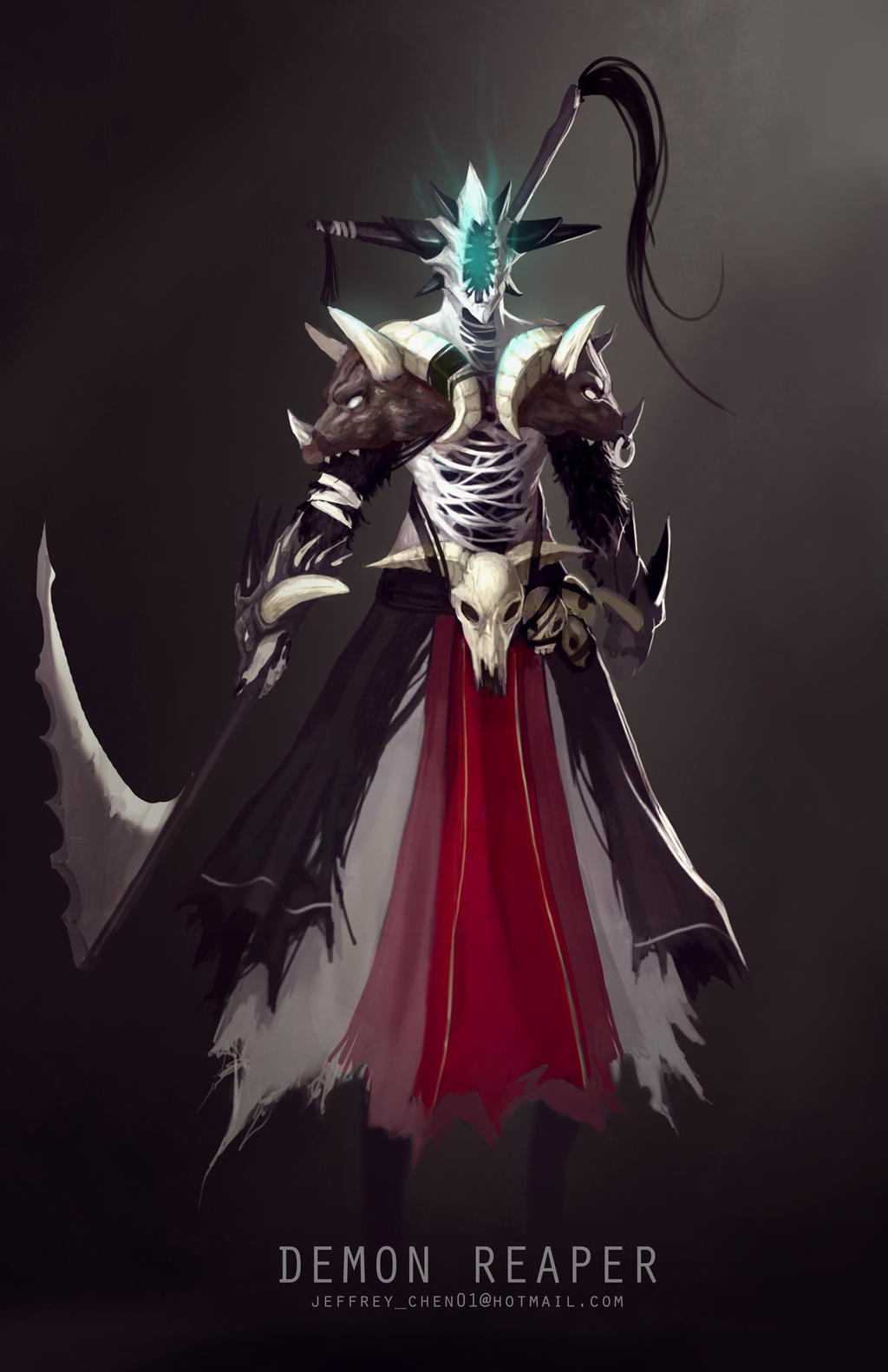 Dark,Monster&Demon - Page 2 The_demon_reaper_character_concept_by_jeffchendesigns-d8lvdvd