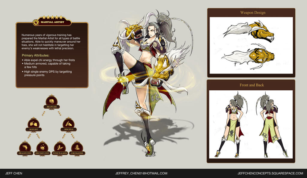 Game Character Design Contest : Valient force hero design contest martial artist by