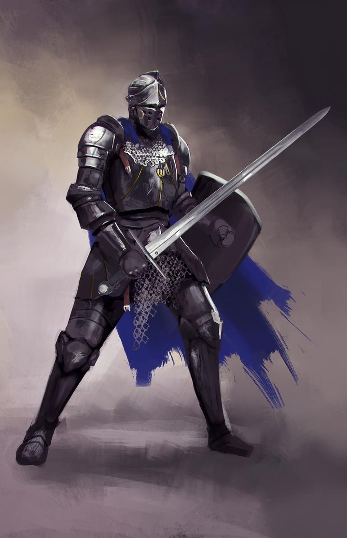 Medieval Knight by jeffchendesigns on DeviantArt