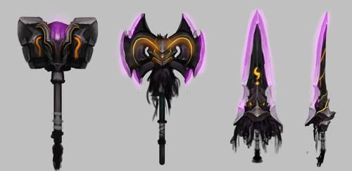 Magic Weapon concepts