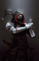 Robot Ninja by jeffchendesigns