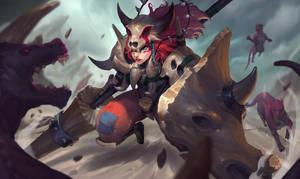 Rai'Ki Slayer of Beasts by jeffchendesigns