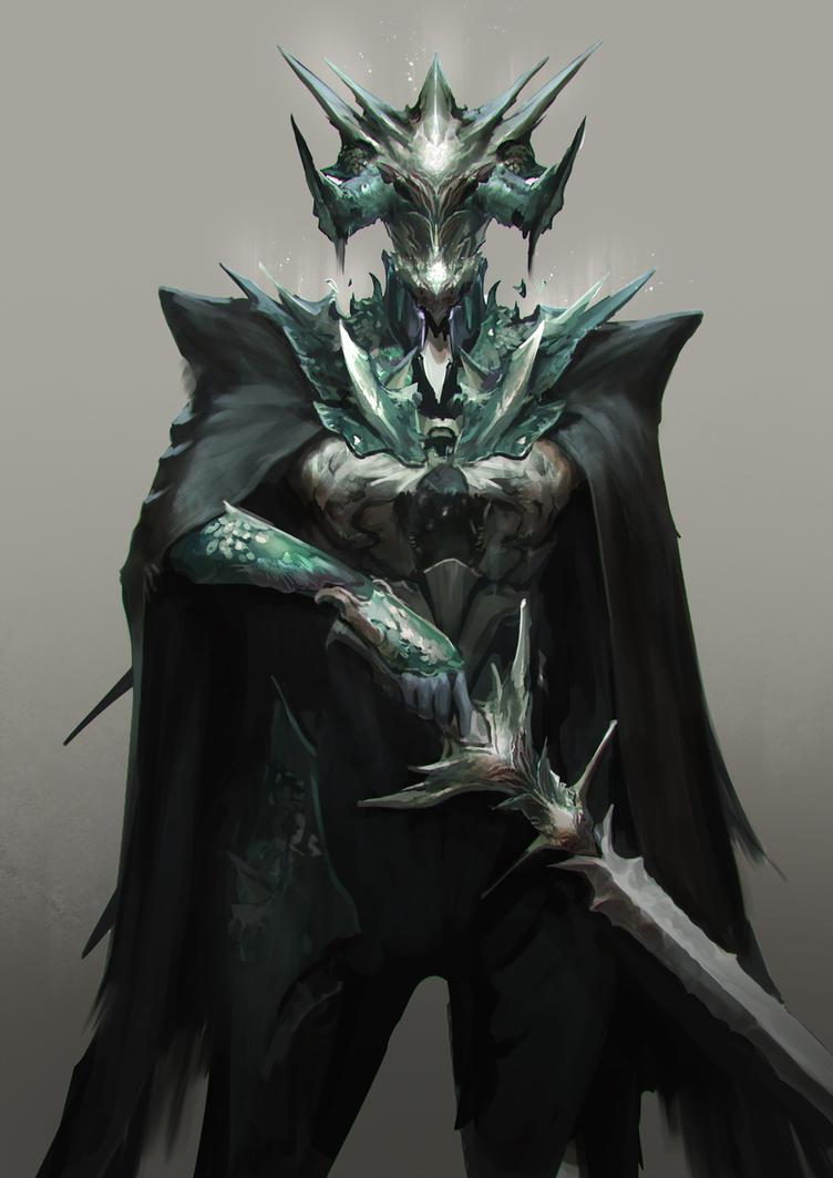 Demon Knight by jeffchendesigns
