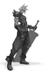Cloud Strife by jeffchendesigns