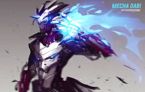 Mecha Dabi by jeffchendesigns