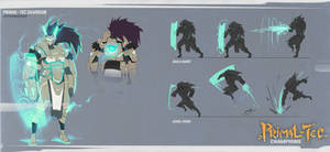 Primal-Tec Guardian Abilities by jeffchendesigns
