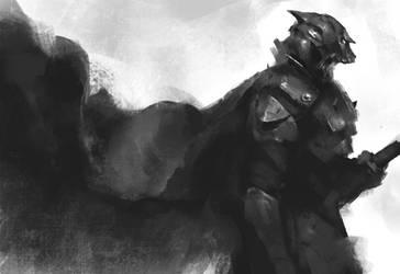 Anubis Knight by jeffchendesigns