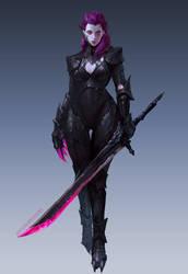 Nightblade Assassin by jeffchendesigns