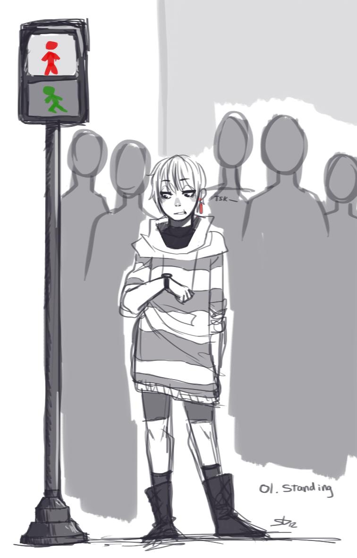 01 Standing by BunnyTheAssassin