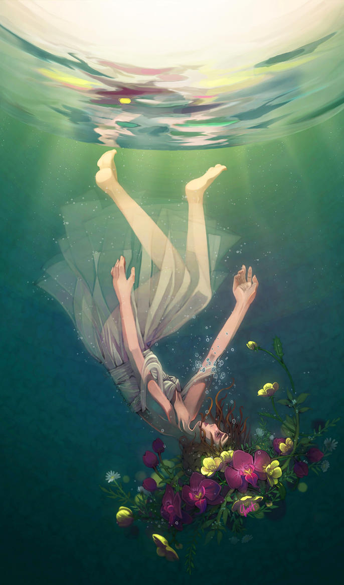 Ophelia by Y-Frost