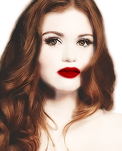 Lydia Martin - Cartooned Detailed PNG by lydiammartin