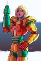 Samus by GoldenMuseX