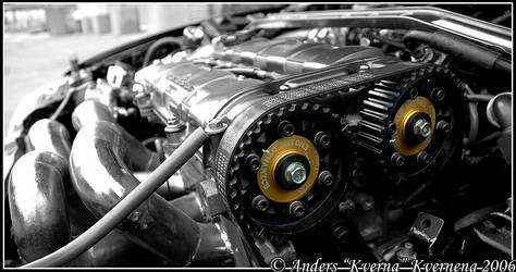 Honda CRX Turbo engine