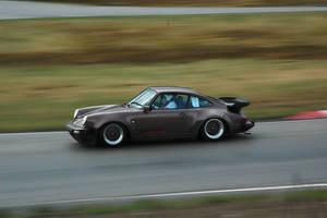 Porsche 911 at gatebil Vaaler by Kverna