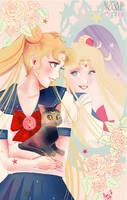 Sailor moon by Sugar-Nami