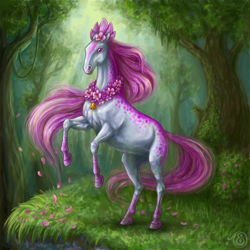 Horse-orchid by Lady-DreamArt
