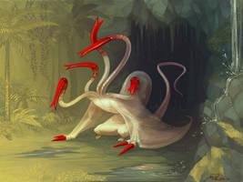 tubeworm hydra by madody