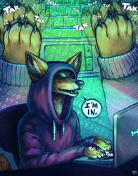 Computer Hackal by madody