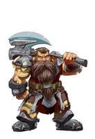 Casual dwarf by Tregis