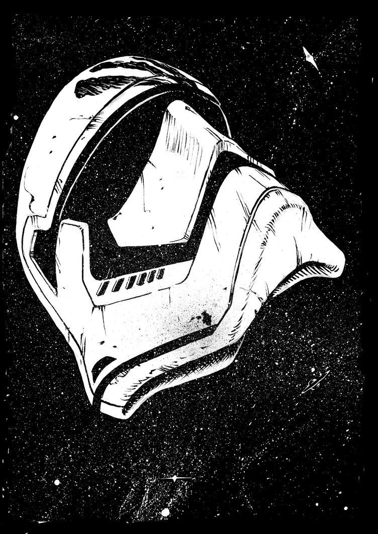 inktober2017-08-Finn from Star Wars by Tregis